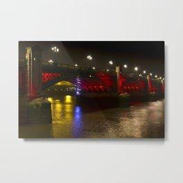 The Southwark Bridge Metal Print