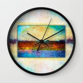 Waiting for Whales Georgia Wall Clock