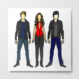 Outfits of Vamps Metal Print