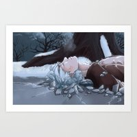 jack frost Art Prints featuring Jack Frost by Kiell R.