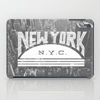 nyc iPad Cases featuring NYC by Zeke Tucker