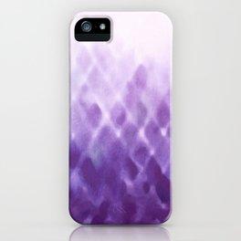 Diamond Fade in Violet iPhone Case