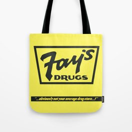 Fay's Drugs | the Immortal Yellow Bag Tote Bag