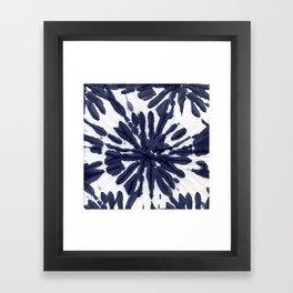 Indigo IV Framed Art Print