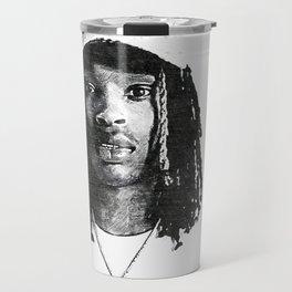 King Von - Dayvon Daquan Bennett - Rap - Drill Chicago Music - O-Block Society6 Sketch Art 66122 Travel Mug