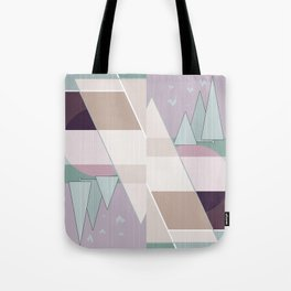 Pastel tone . Abstraction . Tote Bag