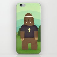 sasquatch iPhone & iPod Skins featuring sasquatch  by Pope Saint Victor
