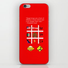 Crowd contol iPhone Skin