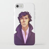 sherlock iPhone & iPod Cases featuring Sherlock by Nautilus Gifticus