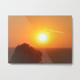 Norfolk sunset Metal Print