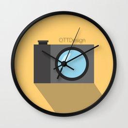 OTTDesigns Logo Wall Clock