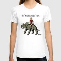 "michael scott T-shirts featuring Tri ""Michael Cera"" tops by zombieCraig"