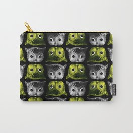 Creepy Owls Carry-All Pouch