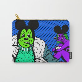 PIMPIN'.  (Mouseketeer).  (On Blue). Carry-All Pouch