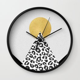 Mountain Of Hope Wall Clock
