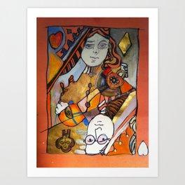 Ondrea Duncan  Art Print