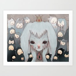 Not All Fun and Games Art Print