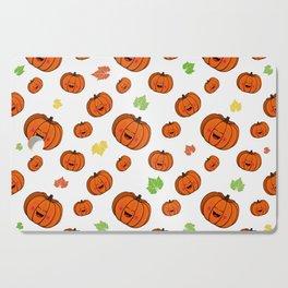 The happy pumpkin Cutting Board