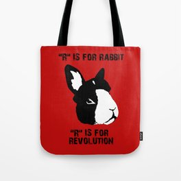 """R"" IS FOR Tote Bag"