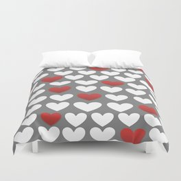 the heart of the matter  Duvet Cover