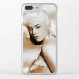 Diana Dors, Movie Legends Clear iPhone Case