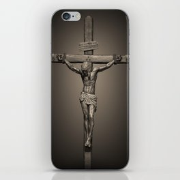 Crucifixion - For All of US iPhone Skin