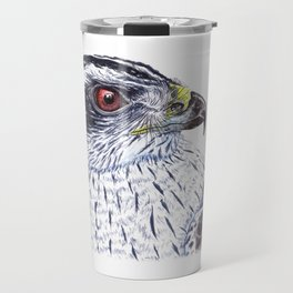 Northern Goshawk Travel Mug