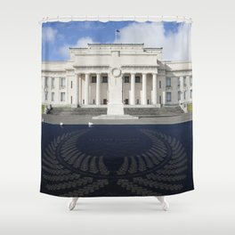 Auckland Lest we forget Shower Curtain