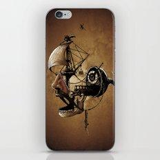 destructured pirate #Hook iPhone & iPod Skin