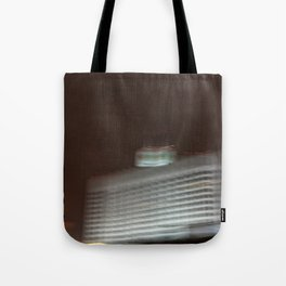 On the move through Moscow, white house Tote Bag