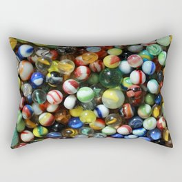 Vintage Marbles Rectangular Pillow