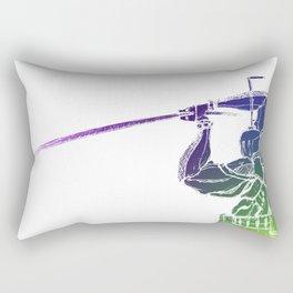 Spectral Guardian. Rectangular Pillow