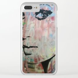 The stare Clear iPhone Case
