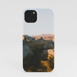 First Light on Rams Head III iPhone Case
