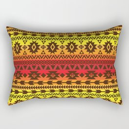 bright ethnic ornament Rectangular Pillow