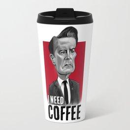 Twin Peaks - Coop Needs Coffee Travel Mug