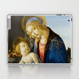 The Virgin and Child by Sandro Botticelli Laptop & iPad Skin