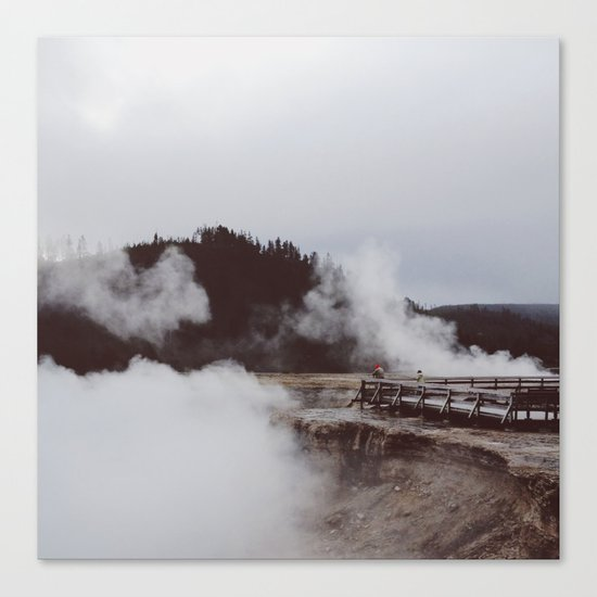 Excelsio Geyser Crater Canvas Print