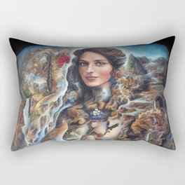 Our Lady of Water Rectangular Pillow
