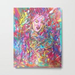 Iconic Pink Metal Print
