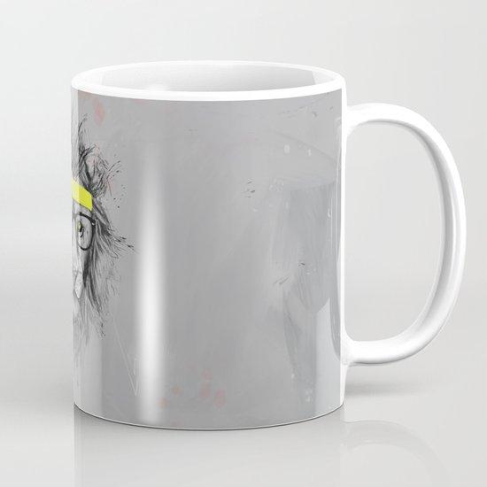 hipster lion Mug