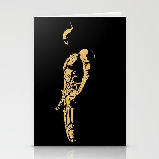 KNIGHT IN THE DARK Stationery Cards