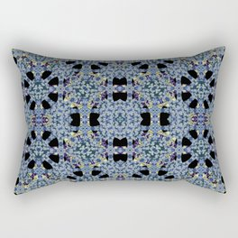 Oriental Ornate Pattern Rectangular Pillow