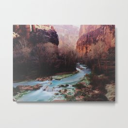 Havasu Canyon Creek Metal Print
