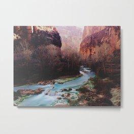 Havasu Canyon Creek Metal Print