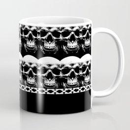 Skull Pattern Coffee Mug
