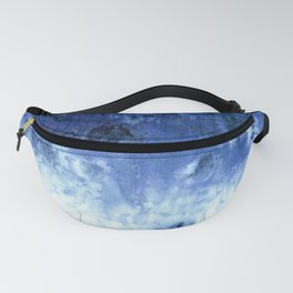 Saltwater Silk Blue Fanny Pack