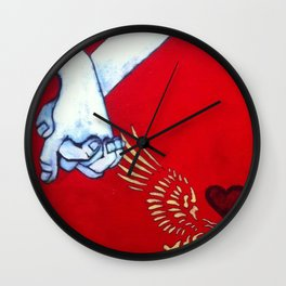 More than just Friends Wall Clock