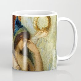 "Gustave Moreau ""The Voices. Hesiod And The Muse"" Coffee Mug"