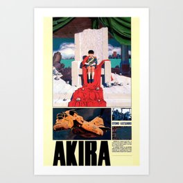 Manga 05 Art Print
